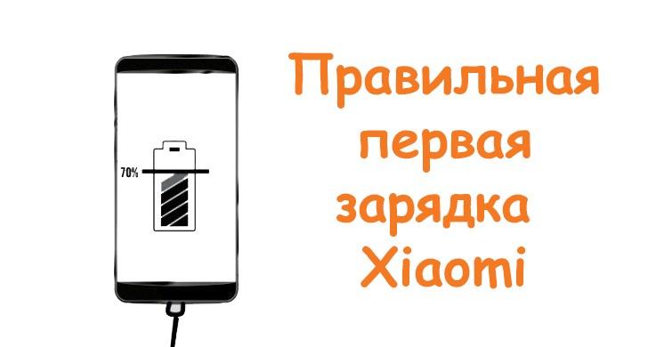 Первая зарядка Xiaomi