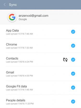 бэкап xiaomi google