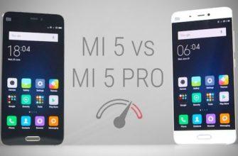 Сравнение Xiaomi mi5 vs mi5 pro