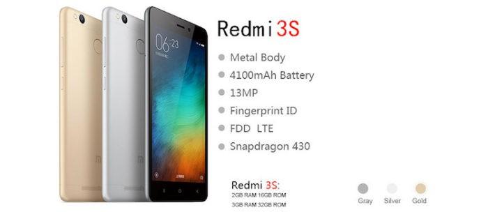 описание redmi 3s