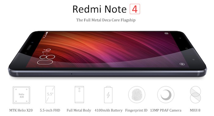 Описание Xiaomi Redmi Note 4