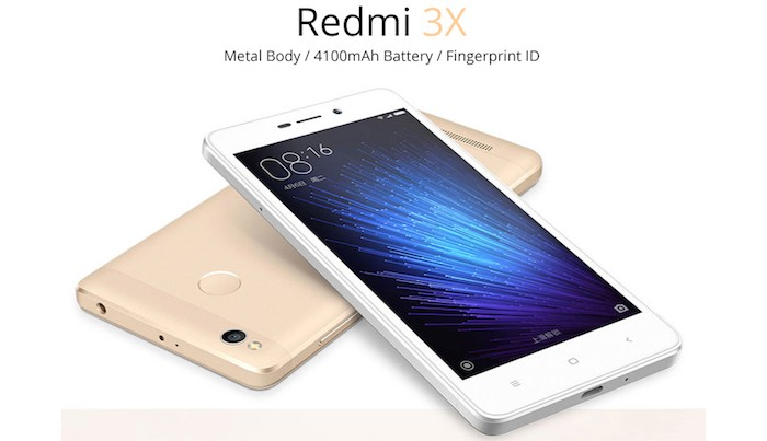 описание redmi 3x