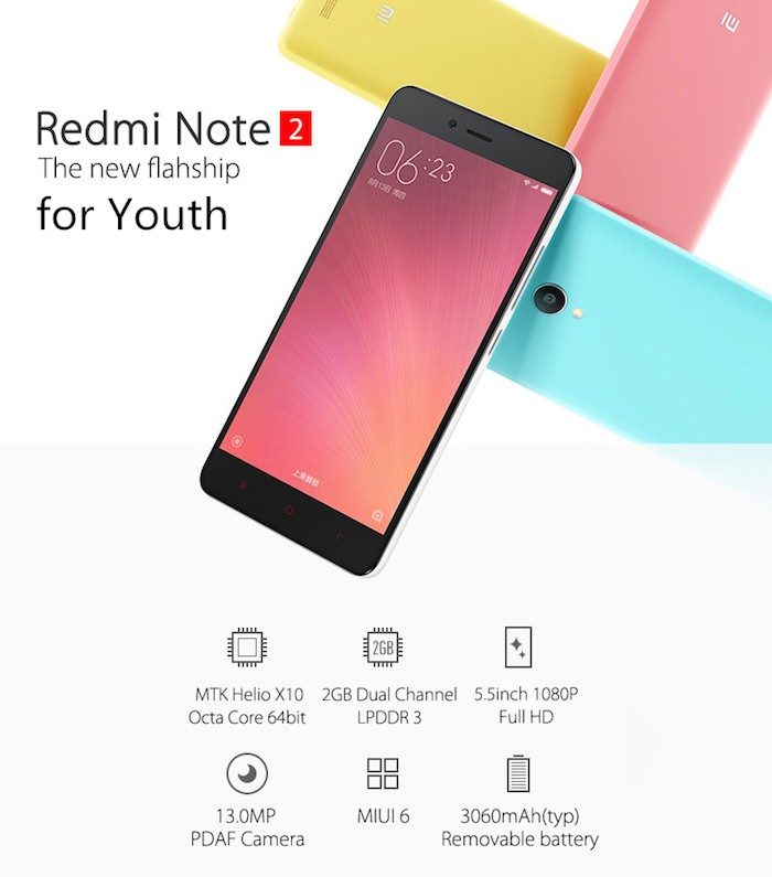 описание xiaomi redmi note 2