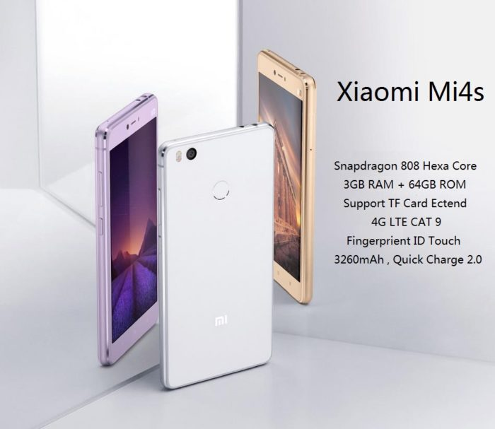 promo Xiaomi Mi4s