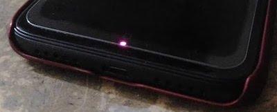 красный индикатор xiaomi
