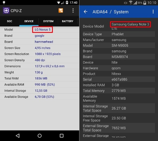 AIDA64 и CPU-Z