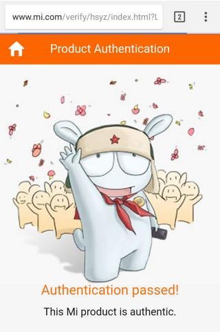 проверка подлинности наушников Xiaomi